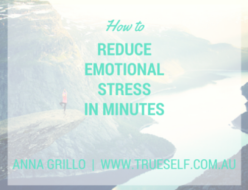 How to reduce emotional stress in minutes