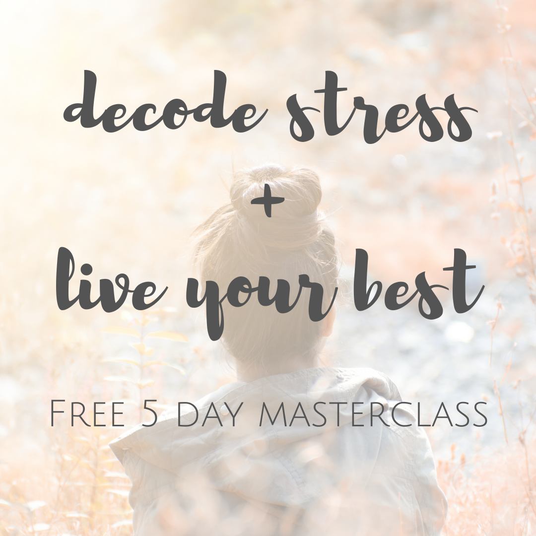 decode stress and live your best